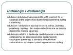 indukcija i dedukcija