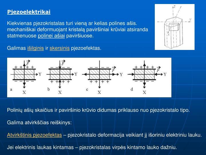 Pjezoelektrikai