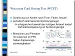 wisconsin card sorting test wcst