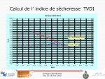 calcul de l indice de s cheresse tvdi1