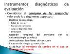 instrumentos diagn sticos de evaluaci n