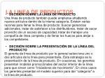 la linea de productos2