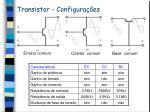 transistor configura es