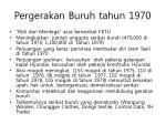 pergerakan buruh tahun 1970