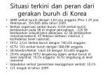 situasi terkini dan peran dari gerakan buruh di korea