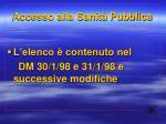 accesso alla sanit pubblica1