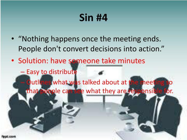 Sin #4