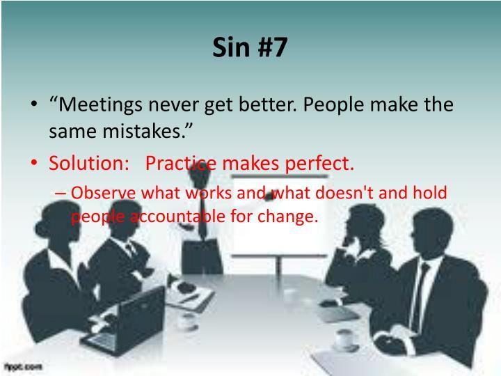 Sin #7