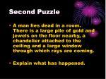 second puzzle