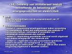 14 ontwerp van ministerieel besluit betreffende de belasting van energieproducten en elektriciteit