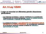 art 5 ley 125 91