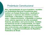 pre mbulo constitucional