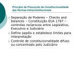 princ pio da presun o da constitucionalidade das normas infraconstitucionais1