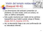 visi n del templo restaurado ezequiel 40 423