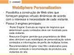 websphere personalization