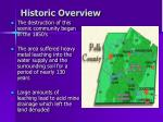 historic overview1