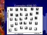 exemples 4096 3d