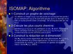 isomap algorithme