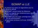 isomap vs lle