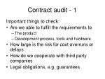 contract audit 1