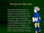 relajaci n muscular