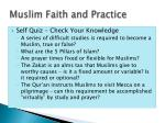 muslim faith and practice1