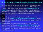 7 1 la etapa en clave de desinstitucionalizaci n