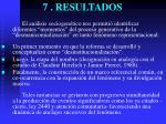 7 resultados