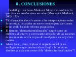 8 conclusiones