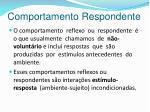 comportamento respondente1