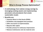 what is energy process optimization