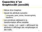capacit s d un graphics2d java2d