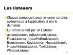 les listeners