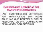 enfermedades nefroticas por transtornos sistemicos1