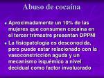abuso de coca na