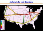 abilene internet2 backbone