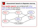 assessment based on disparate sources