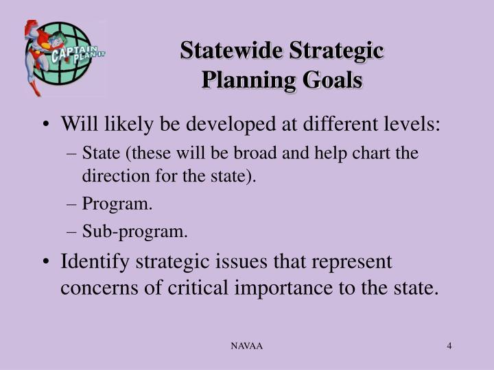 Statewide Strategic