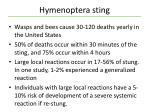 hymenoptera sting1