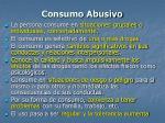 consumo abusivo