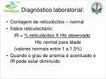diagn stico laboratorial1