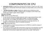 componentes de cpu