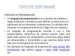 tipo de software1
