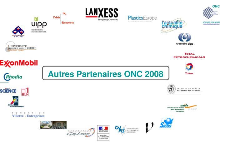 Autres Partenaires ONC 2008