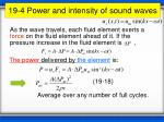 19 4 power and intensity of sound waves