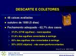 descarte e coletores