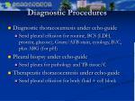diagnostic procedures
