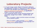 laboratory projects