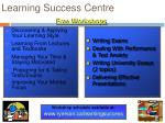 learning success centre