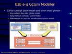 b2b e i z m modelleri